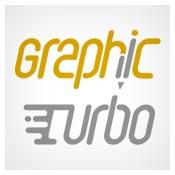 نمونه لوگوی graphic turbo