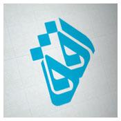 طراحی لوگوی کلمه افق
