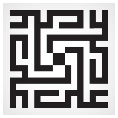 وکتور خط کوفی بنایی علی (ع) بصورت مربعی لایه باز