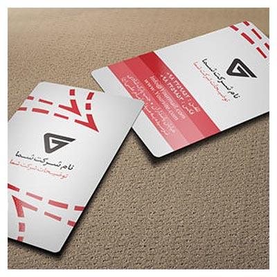 دانلود فایل psd کارت ویزیت عمودی (Business Card)