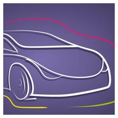 دانلود وکتور خطی خودرو سواری و ماشین