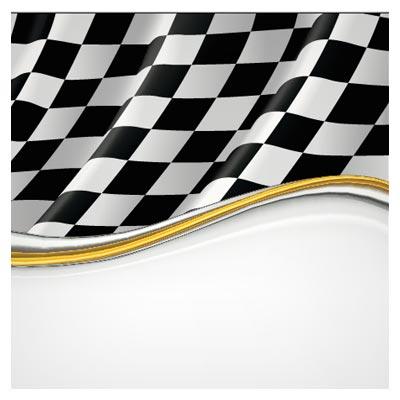 پرچم مسابقه رالی