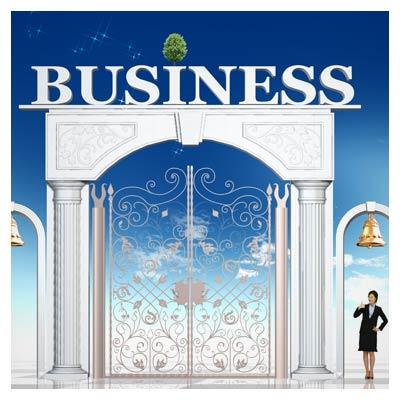 فایل لایه باز دروازه تجارت