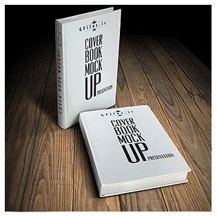 دانلود فایل موکاپ کتاب با جلد سخت