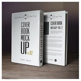 دانلود فایل لایه باز موکاپ (پیش نمایش) جلد کتاب سخت (Hard Cover)