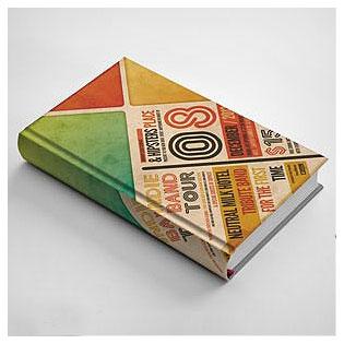 دانلود فایل موکاپ (Mockup) جلد سخت کتاب (Hard Cover) با پسوند psd
