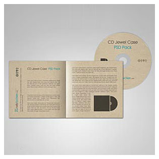 فایل لایه باز پیش نمایش CD