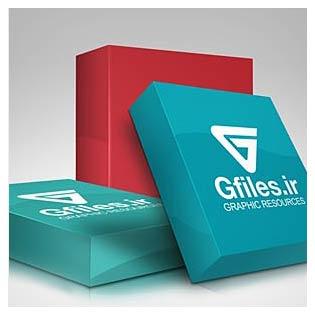 موکاپ یا پیش نمایش مجموعه جعبه های سه بعدی محصول با فرمت psd