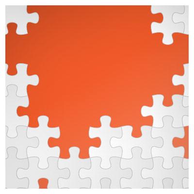 فایل رایگان و لایه باز پس زمینه وکتوری با طرح پازل (Puzzle Vector Background)
