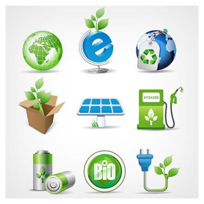 آیکونهای محیط سبز