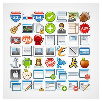 آیکونهای کاربردی وب