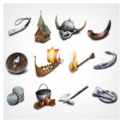 آیکونهای viking