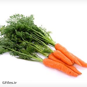دانلود تصویر و عکس با کیفیت هویج تازه با پسوند jpg