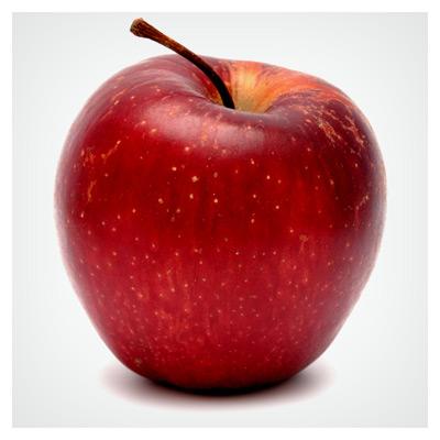 دانلود عکس با کیفیت سیب تازه قرمز رنگ با فرمت jpg