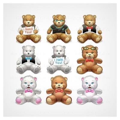 خرسهای عروسکی