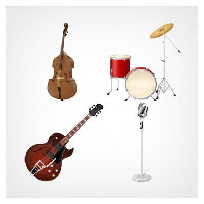 آیکون آلات موسیقی