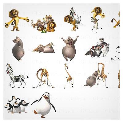 آیکونهای انیمیشن ماداگاسکار