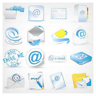 آیکونهای ایمیل