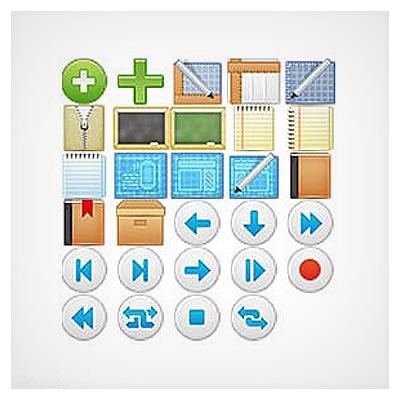 دانلود فایل مجموعه عناصر کاربردی اشیا متنوع و مختلف