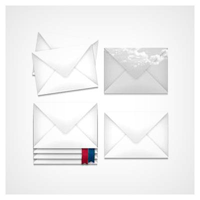 آیکونهای پاکت نامه