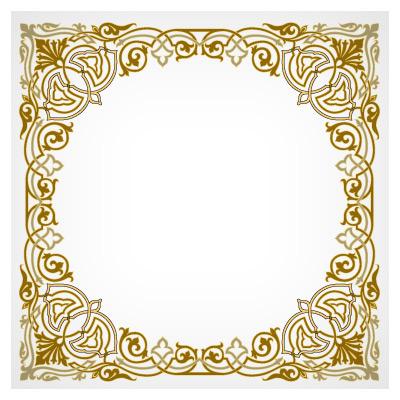دانلود قاب و فریم (frame) تذهیب بصورت لایه باز
