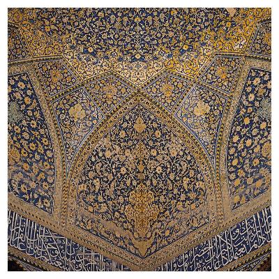 نمای داخلی مسجدشیخ لطف الله