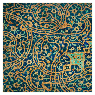 دانلود عکس کاشیکاری و نقوش اسلامی مسجد