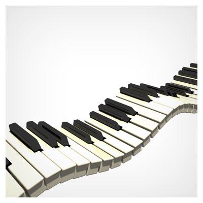 دکمه های پیانو