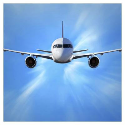 فایل با کیفیت هواپیما در آسمان (پرواز هواپیما)