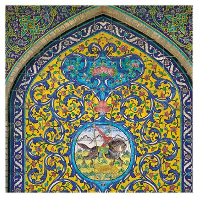 نقوش محرابی مسجد (نقوش ایرانی اسلامی)