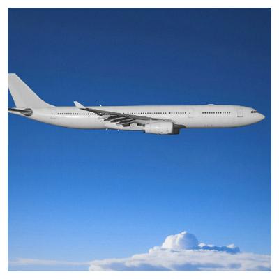 تصویر با کیفیت از پرواز هواپیما در آسمان (civil aviation aircraft wallpaper)