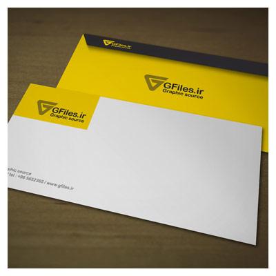 فایل لایه باز پیش نمایش پاکت نامه