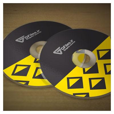 موکاپ لایه باز CD