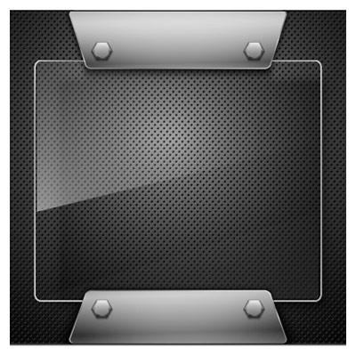 فریم (Frame) و قاب فلزی با فرمت وکتور
