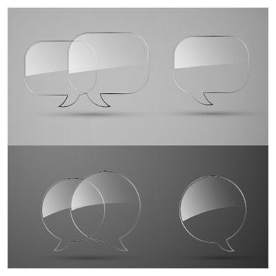 حباب های شیشه ای