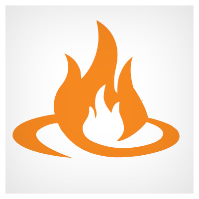 لوگوی آتش و شعله