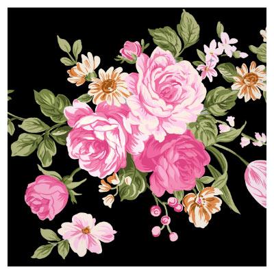 گلهای فانتزی لایه باز با کیفیت بالا (psd)