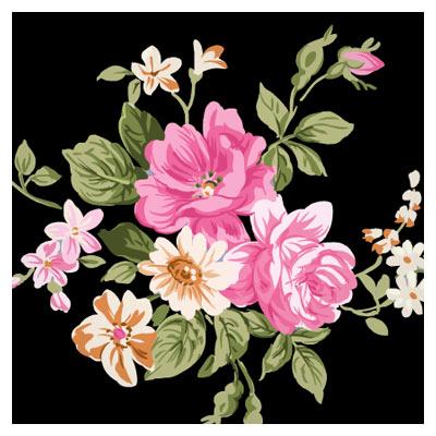 فایل پی اس دی گل های رز ، لایه باز با کیفیت بالا