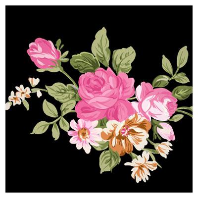دسته گل رز ، بصورت لایه باز با فرمت psd