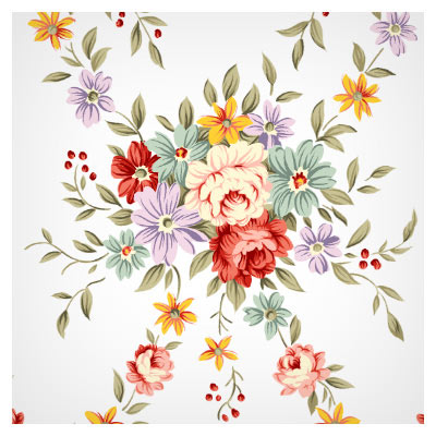 دسته گل رز با فرمت psd (Rose Flower)