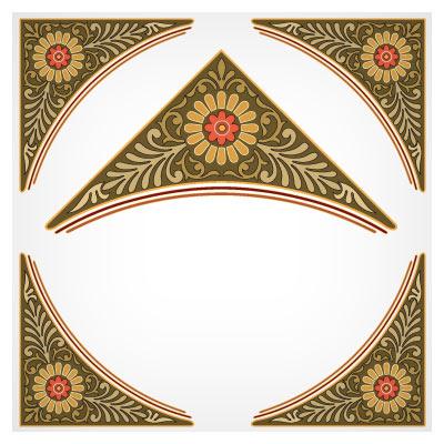 دانلود فایل eps (وکتور) تذهیب مناسب برای طراحی گوشه (Corner)