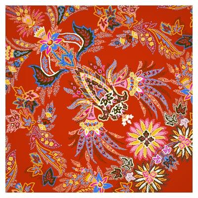 پس زمینه لایه باز PSD با طرح های سنتی و اسلیمی رنگی