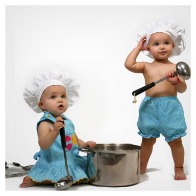 بچه های آشپز!