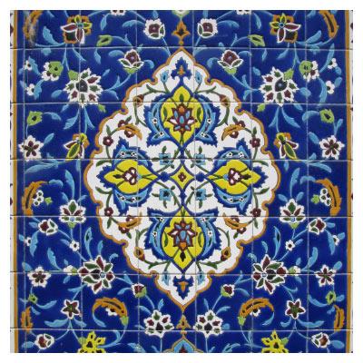 هنر کاشیکاری ایرانی (معماری اسلامی مساجد)