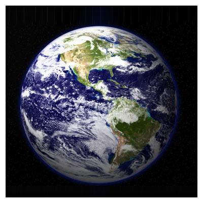 عکس کره زمین