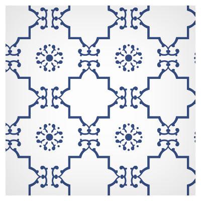 دانلود پس زمینه پترن به صورت با کیفیت، به رنگ آبی و سفید با فرمت JPG
