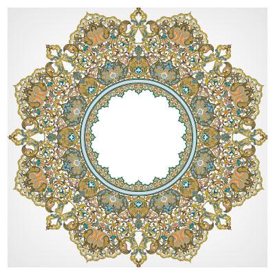 دانلود شمسه ضلع دار (8 ضلعی)