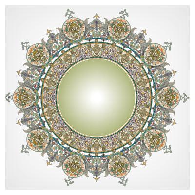 تذهیب شمسه (هنر ایرانی اسلامی)