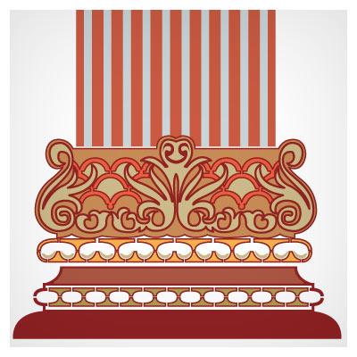 دانلود نماد تذهیب ستون