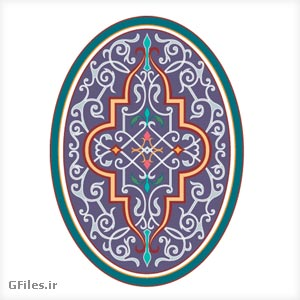 oval vector design (ornamental)